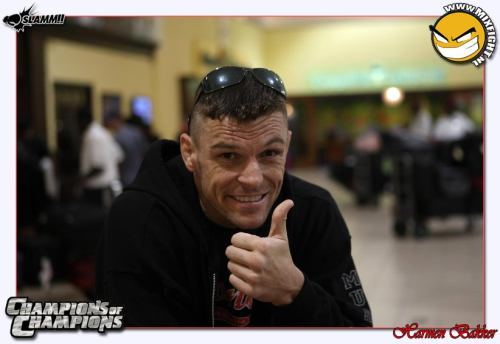 John Wayne Parr Heading out to Jamaica - Photo by Carmen Bakker