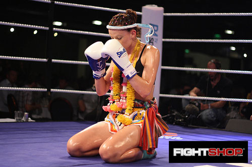 Sheree Halliday Ram Muay - Rumble At The Reebok