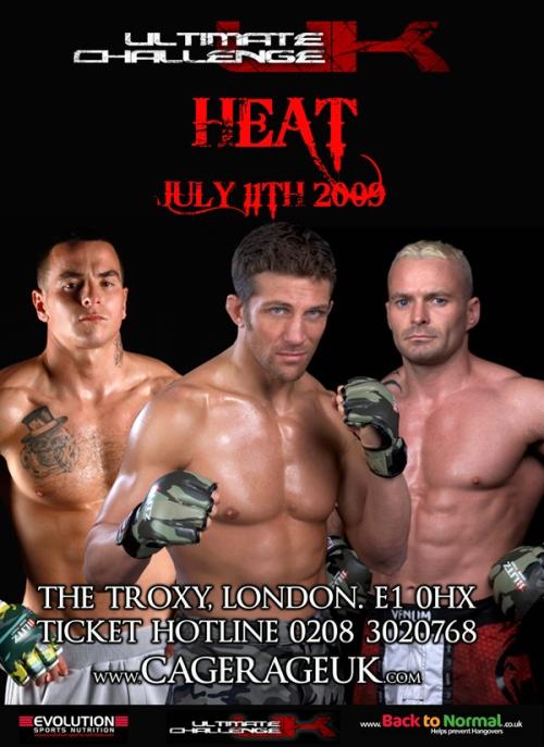 Ultimate Challenge Heat 11th July The Troxy London