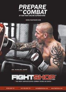 FIGHTSHOP.com New Website